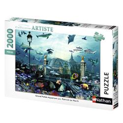 Puzzle série nature 2000 pièces