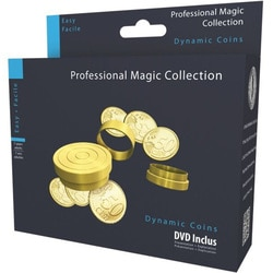 Tour de magie-Dynamic coins avec DVD