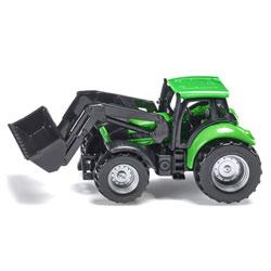Tracteur DEUTZ-FAHR avec chargeur frontal