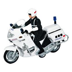 Moto police à friction