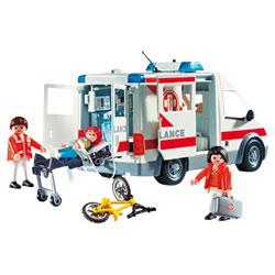 4221-Ambulanciers et Blessé