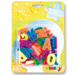 Lettres magnétiques majuscules