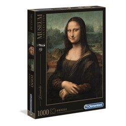 Puzzle 1000 pièces - La Joconde Leonard De Vinci