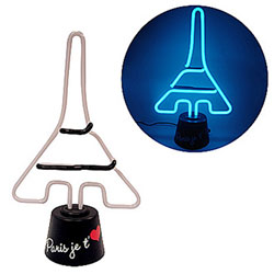 Lampe Néon Tour Eiffel coeur
