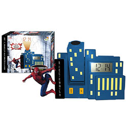 Radio Réveil projecteur Spiderman 3