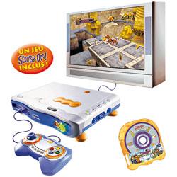 Console V.Smile Pro + jeu Scooby Doo