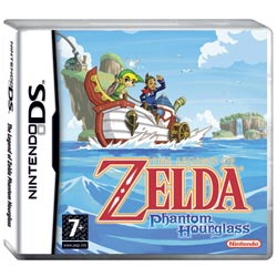 Zelda Phantom Hourglass sur DS