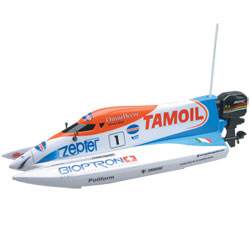 Bateau Tamoil radiocommandé 1/16ème