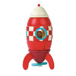 Kit Magnet fusée en bois