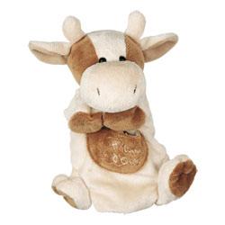 Peluche Marionnette Vache