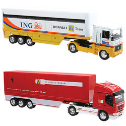 Camion de course 1/87ème