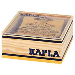 Kapla-40 planchettes jaunes