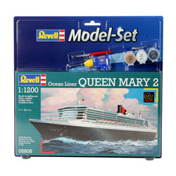 Maquette paquebot Queen Mary 2