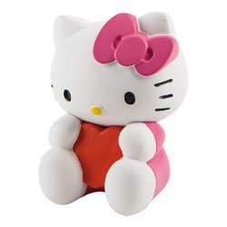 Figurine Hello-Kitty St Valentin