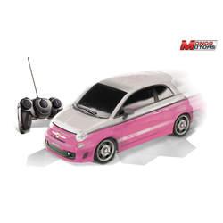 Voiture radiocommandée Lady Fiat 500 Abarth rose