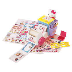 Sticker maker Hello Kitty