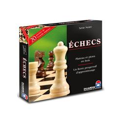 Jeu d'échecs - Plateau série noire