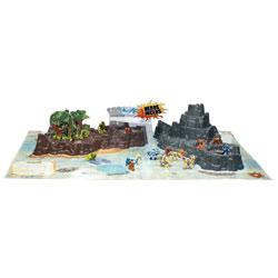 Gormiti Playset Ile de Gorm avec 3 figurines