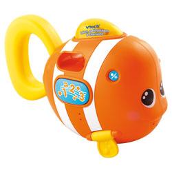 Jouet de bain Léon petit poisson à chanson