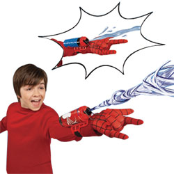 Lance fluide et eau Deluxe Spiderman