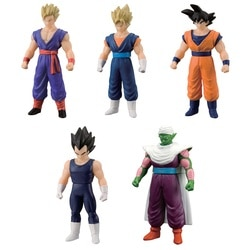 Pack 5 Figurines Dragon Ball Z en assortiment