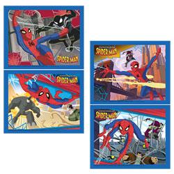 Puzzle 2X35 Pièces Spiderman