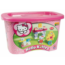 Baril de briques Hello Kitty