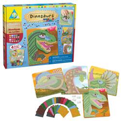 Mosaïques autocollantes Dinosaure