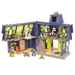 Scooby-Doo Manoir mystérieux avec 2 figurines