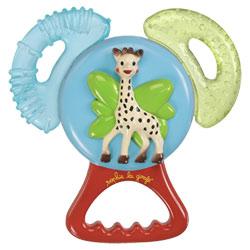 Anneaux de dentition vibrant Sophie la Girafe