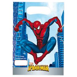 6 Sacs Cadeau Anniversaire Spiderman