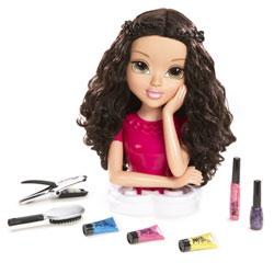 Moxie girl Tête à coiffer Brune