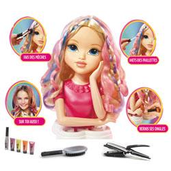 Moxie Girl Tête à coiffer Blonde