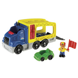 Le camion de transport de véhicules Little People