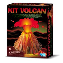 Kit scientifique : Fabriquez un Volcan