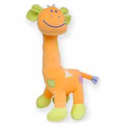 Girafe Orange Brodée 75cm