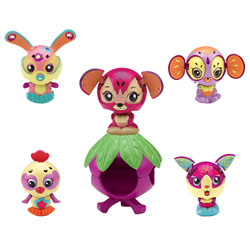 Zoobles 1 Figurine + Happitat