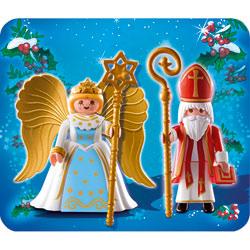 4887-Saint Nicolas et Ange