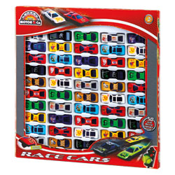 Coffret de 50 voitures