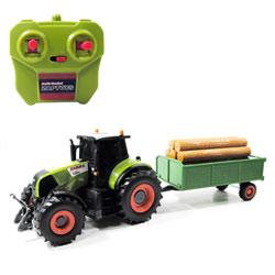 Tracteur et remorque Claas radiocommandé