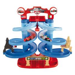 Piste de course en spirale Cars 2