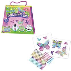 Mosaïque autocollante Papillons SparkleUps