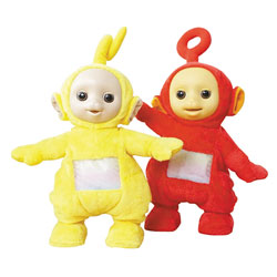 Peluche à fonction Teletubbies