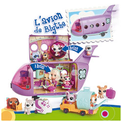 L'avion de Blythe Petshop