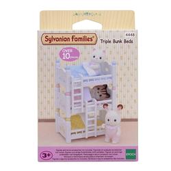 Sylvanian Families - 4448 - Les lits superposés à 3 couchettes bébés