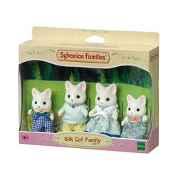 Sylvanian Families - 4175 - La famille chat soie