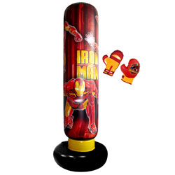 Maxi Punching Ball + Gants Iron Man 2