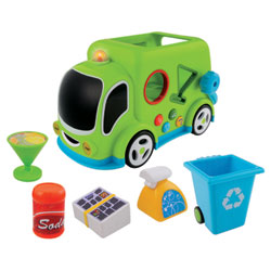 Camion poubelle à formes