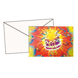 10 cartes d'invitations + enveloppes