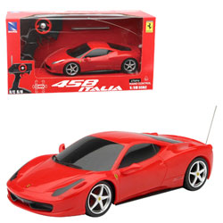 Ferrari 458 IT radiocommandé 1/18°